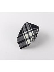 Cravate d'affaires pour hommes en coton loisirs