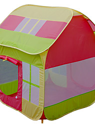Barraca de Brinquedo Modelo e Blocos de Construção Casa