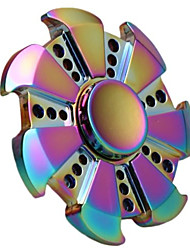 Dazzle Colour Camouflage Alloy Metal High Quality EDC Fidgets Hand Spinner Autism ADHD Rotation Time Long Anti Stress Toys