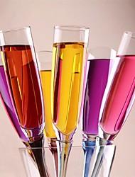 Artigos de Vidro Acrílico,4*4*40 Vinho Acessórios