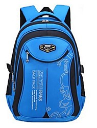 Kids Backpack Nylon All Seasons Formal Blushing Pink LightBlue Navy Blue Fuchsia