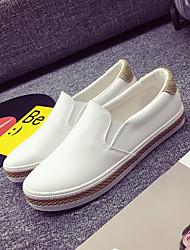 Herren-Sneakers Frühling Komfort Leinwand Tüll lässig schwarz weiß