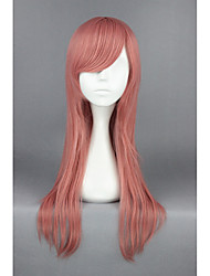 Hitmanreborn-bianchi straight pink anime 24inch cosplay perruque cs-163a