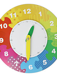 Building Blocks Educational Toy For Gift  Building Blocks Model & Building Toy Clock Wood 2 to 4 Years 5 to 7 Years 8 to 13 Years Toys