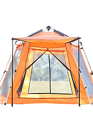 5-8 persons Tent Shelter & Tarp Camping Shelter Single Camping Tent One Room Automatic Tent Keep Warm Heat Insulation