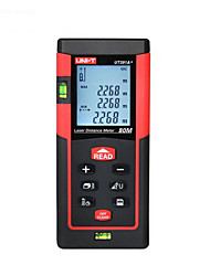 Unidade ut391a digital 800m medidor de distância de laser de 635nm com distância&Medição de ângulo (1,5 aaa baterias)