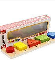 Обучающая игрушка Игры с последовательностью Для получения подарка Конструкторы Модели и конструкторы Круглый Квадратная Треугольник