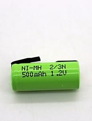 Ni-Mh 2 / 3n 1.2v 500mAh