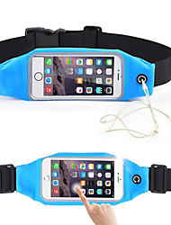 Sell Like Hot Unisex Touch Acrylic Sports Casual Outdoor Waist Bag LightBlue Peachblow Blushing Pink Ruby Black