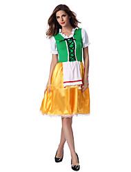 Cosplay Costumes Maid Costumes Festival/Holiday Halloween Costumes Fashion Leotard/Onesie Halloween Female Terylene Polyester