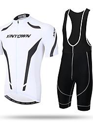 Xintown® jersey de ciclismo respirável seco e seco curto e curto e curto e curto