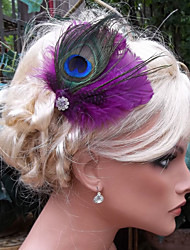 Hand Made Wedding Feather Hair Fascinator Headpieces Fascinators Headbands Hair Accessories Feather Wigs Accessories For Women 026
