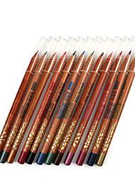 Lápices de Ojos Lápiz Seco Gloss colorido Natural Ojos M.N