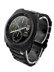 G6 mtk2502 ultra fino ips tela taxa de passo freqüência cardíaca monitoramento pulseira de metal bluetooth smartwatch para
