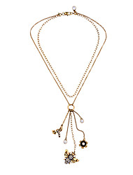 Women's Pendant Necklaces Animal Shape Chrome Unique Design Gold Jewelry For Gift Daily 1pc