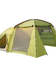 >8 persons Tent Double Family Camping Tents One Room Camping Tent 1000-1500 mm Fiberglass OxfordWaterproof Ultraviolet Resistant