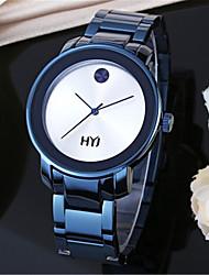 Men's Fashion Watch Wrist watch Quartz Alloy Band Blue Gold Rose Gold Rose Gold Blue Gold