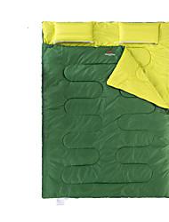 Спальный мешок Прямоугольный Двуспальный комплект (Ш 200 x Д 200 см) 5 Пористый хлопок145 Походы Сохраняет тепло Переносной