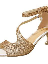 Women's Sandals Summer Comfort PVC Outdoor Low Heel Buckle Walking