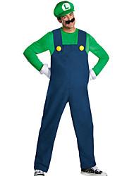 Costumes de Cosplay Cosplay Fête / Célébration Déguisement d'Halloween Mode Haut Pantalon Gants Halloween Carnaval Masculin