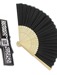 Debutante Ball Silk Hand Fans Beter Gifts® Ladies Night Out Essentials BETER-ZH002 22 x 4 x 1.5 cm/box