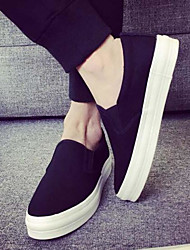 Men's Sneakers Spring Comfort Fabric Casual Blue Black White
