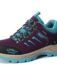 Лиловый Светло-серый-Для женщин-Для прогулок-Материал на заказ клиента-На плоской подошве-Удобная обувь-Спортивная обувь