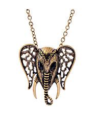 Жен. Ожерелья с подвесками В форме животных Панк Хип-хоп Rock Черный Бижутерия Для Повседневные 1шт