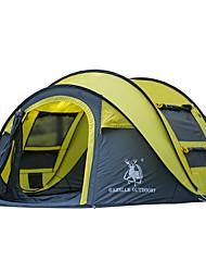 GAZELLE OUTDOORS 3 a 4 Personas Tienda Solo Carpa para camping Una Habitación Tienda pop up Impermeable Resistente al Viento Resistente a