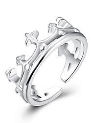 XU Ms Fashion Silver Crown Ring