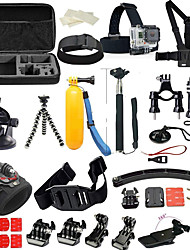 Accessory Kit For Gopro Multi-function Foldable Adjustable All in One ForXiaomi Camera Gopro 5 Gopro 4 Gopro 4 Session Gopro 4 Silver