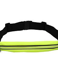 Hüfttaschen für Laufen Sporttasche Wasserdicht Reflexstreifen Telefon/Iphone Tasche zum Joggen Andere ähnliche Größen PhonesSchwarz