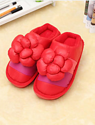 Women's Slippers & Flip-Flops Winter Comfort Sheepskin Casual Red