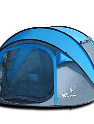 3 a 4 Personas Doble Carpa para camping Una Habitación Tienda pop up para Camping Viaje CM