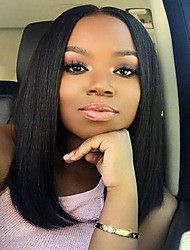 New Style Brazilian Virgin Human Hair Bob Wigs Straight Lace Front Human Hair Wigs Short Virgin Hair Bob Wig for Woman