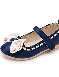 Girls' Sandals Spring Summer Comfort Flower Girl Shoes PU Party & Evening Dress Casual Flat Heel Bowknot Magic Tape