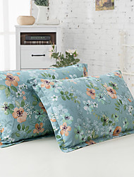 Cubierta floral del duvet fija 2 pedazos de algodón poli / patrón de algodón reactivo de algodón de impresión poli / reina de algodón 2pcs