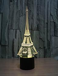 tour 3 lampe d créative lampe stéréo visuelle la lampe de projection de lampes contact