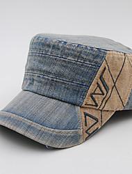 Unisex Men/Women's Cotton Baseball Cap Sun Hat Flat-top Cap Outdoors Sports Embroidery Casual Summer All Seasons Khaki/Black/Grey/Brown