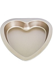 Big size heart shape cake pan non stick cake mould food grade carbon steel FDA