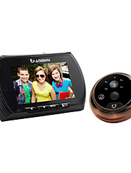 danmini design de tela HD de 4,3 polegadas para 160 graus grande angular pir detecção de movimento de visão noturna telespectador função