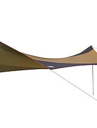 DesertFox® Refugio y Toldo de Camping Tienda Parasol Solo Carpa para camping Tienda de Campaña Plegable Impermeable Resistente a los UV