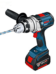 Bosch 13MM Impact Drill 18V Lithium Rechargeable with Two Batteries GSB 18VE-2-Li
