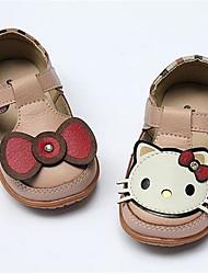 Girls' Flats Spring Fall Comfort PU Casual Flat Heel