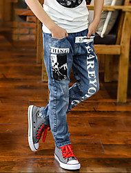 Boys' Casual/Daily Solid Pants-Nylon Summer