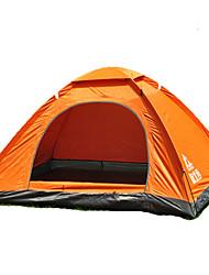 2 Personen Zelt Doppel Falt-Zelt Einzimmer Camping Zelt 1000-1500 mm Glasfaser OxfordFeuchtigkeitsundurchlässig Wasserdicht