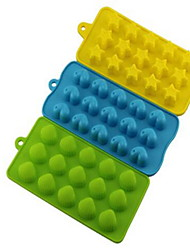 3pcs per Set Mold for Ice Silicone Ice Tray