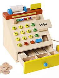 Dinheiro & Banking Modelo e Blocos de Construção Madeira Crianças