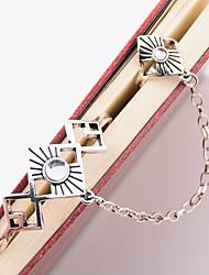 Femme Chaînes & Bracelets Bijoux Mode Vintage Alliage Forme Géométrique Argent Bijoux Pour Occasion spéciale 1pc