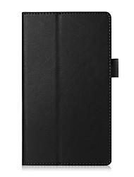 Для крышки корпуса с подставкой флип полный корпус корпус сплошной цвет мягкая кожа pu для asus zenpad c 7.0 z170c / cg